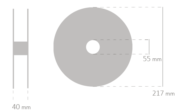 Spool dimensions